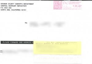 Orange County Bench Warrant