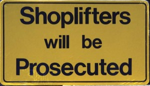 Shoplifting Charges