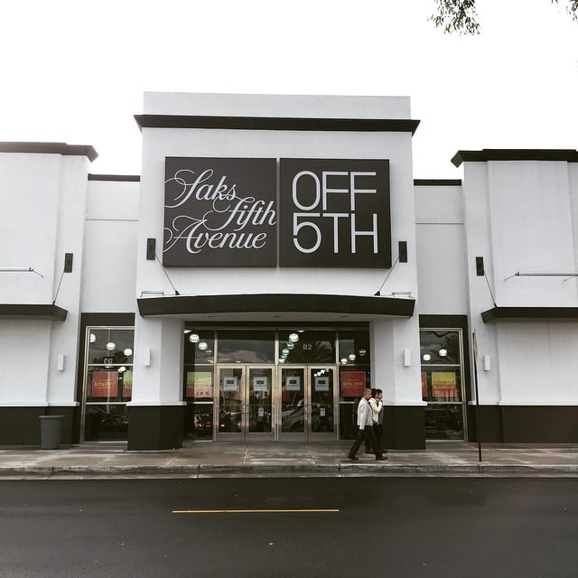 Shoplifting at Saks Fifth The outlets at Orange