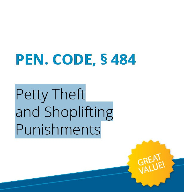 Petty Theft and Shoplifting Punishments | Shoplifting in